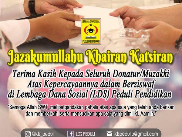 Laporan ZISWAF Ramadhan 1441 H/2020 M Yayasan Bina Insan Muslim Madiun